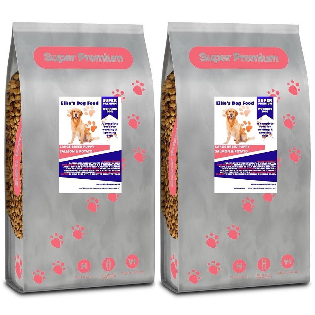 Super Premium Hypoallergenic Large Breed Puppy / Junior Salmon & Potato Complete Dry Dog Food