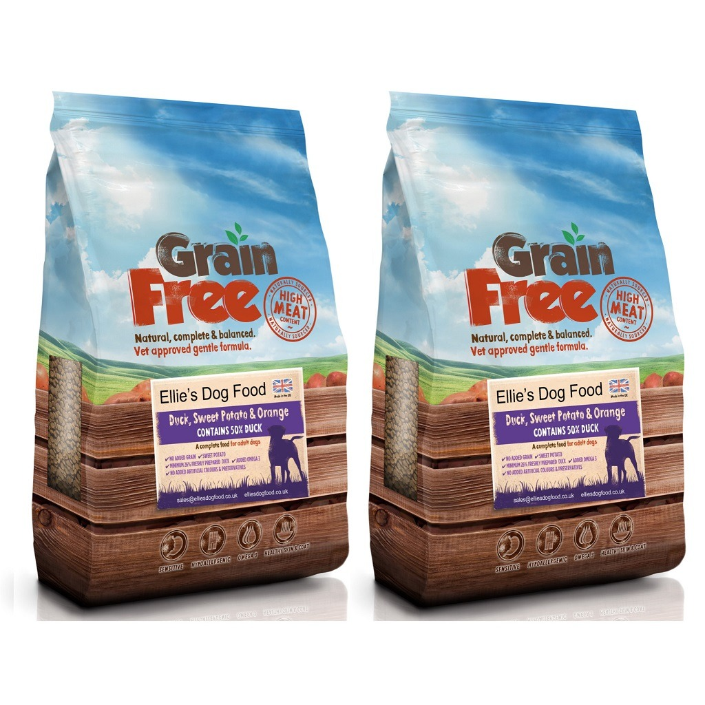 Grain Free Adult 50 Duck Sweet Potato Orange Complete Dry Dog