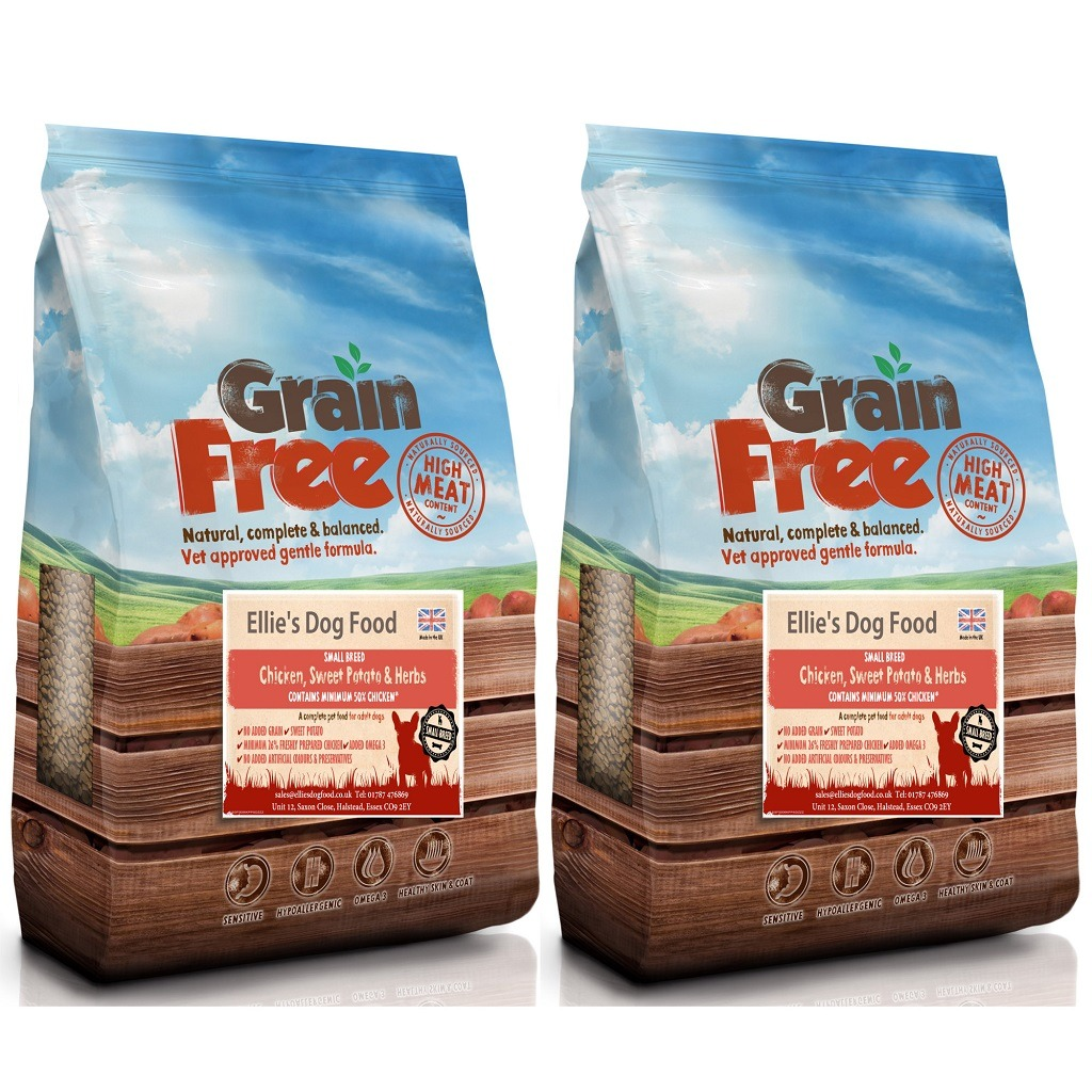 Grain Free Adult Small Breed 50% Chicken, Sweet Potato & Herb Complete Dry Dog Food