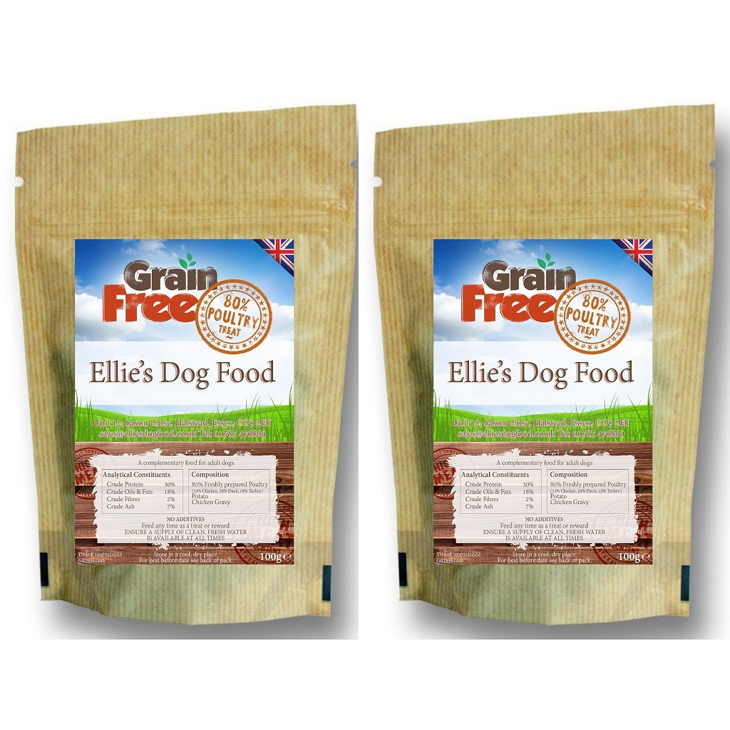 Grain Free Dog & Cat Treats Contains 80% Freshly Prepared Poultry