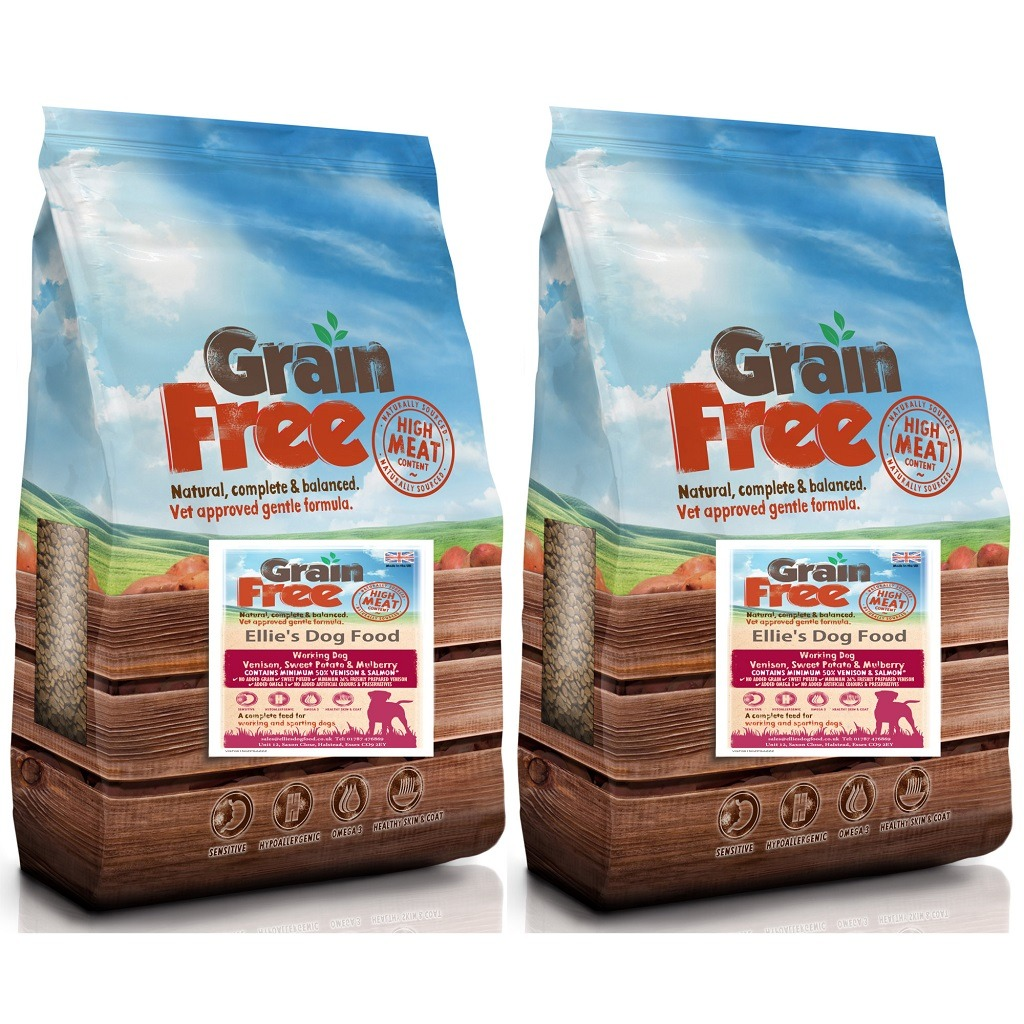Grain Free Adult 50% Venison with Salmon, Sweet Potato & Mulberry Complete Dry Dog Food