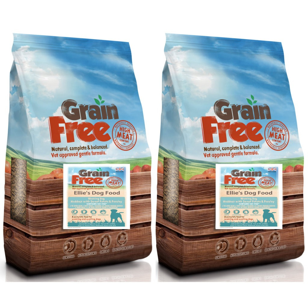 Grain Free Adult 50% Haddock with Sweet Potato & Parsley Complete Dry Dog Food